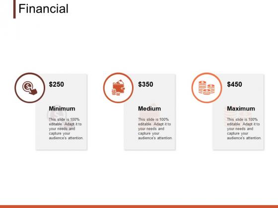 Financial Minimum Medium Ppt PowerPoint Presentation Layouts Graphics Example