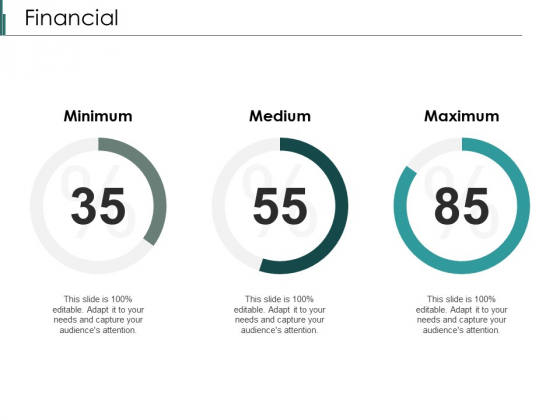 Financial Minimum Medium Ppt PowerPoint Presentation Summary Themes