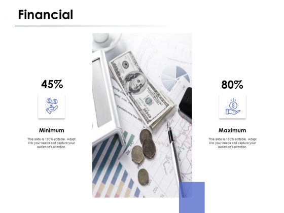 Financial Minimum Ppt PowerPoint Presentation File Infographics