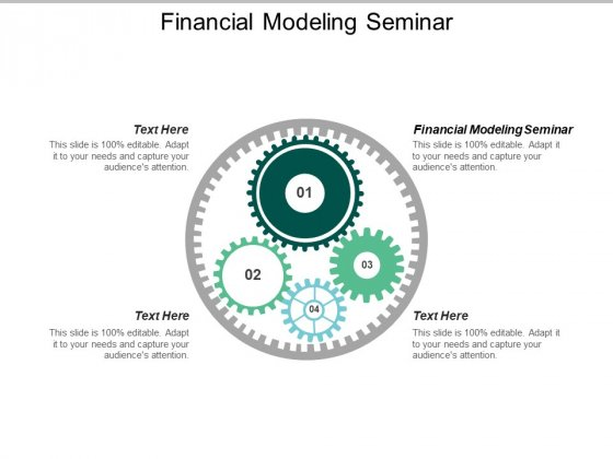 Financial Modeling Seminar Ppt PowerPoint Presentation Show Icon Cpb