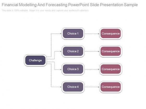 Financial Modelling And Forecasting Powerpoint Slide Presentation Sample