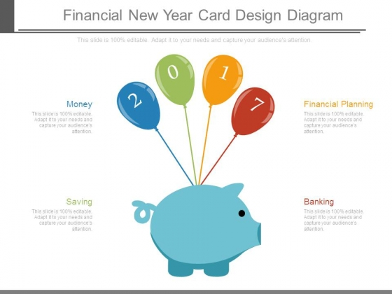 Financial New Year Card Design Diagram
