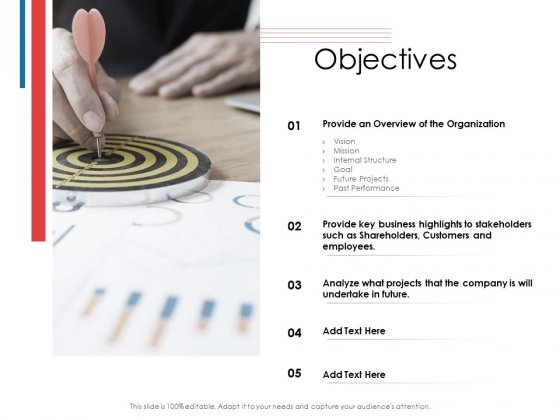 Financial PAR Objectives Ppt Slides Portfolio PDF