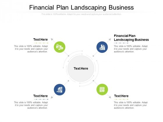 Financial Plan Landscaping Business Ppt PowerPoint Presentation Ideas Sample Cpb Pdf