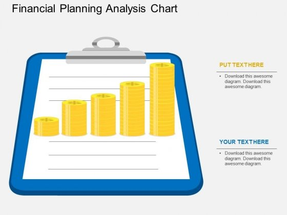 Financial Planning Analysis Chart Powerpoint Template