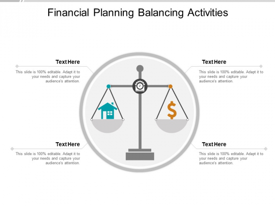 Financial Planning Balancing Activities Ppt Powerpoint Presentation Slides Skills