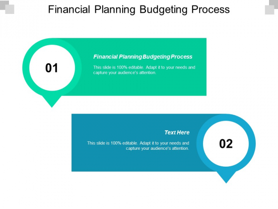 Financial Planning Budgeting Process Ppt PowerPoint Presentation Show Graphics Cpb