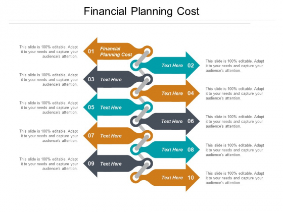 Financial Planning Cost Ppt PowerPoint Presentation Styles Brochure