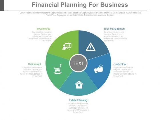 Financial Planning For Business Ppt Slides