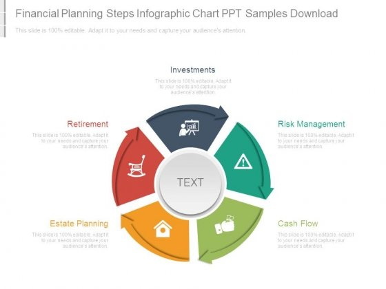 Financial Planning Steps Infographic Chart Ppt Samples Download