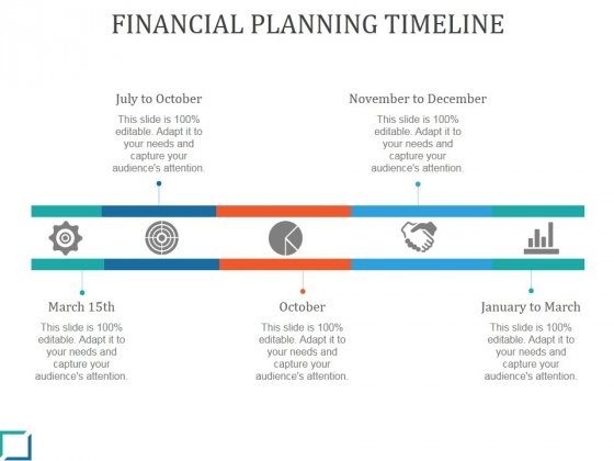 Financial Planning Timeline Ppt PowerPoint Presentation Guidelines