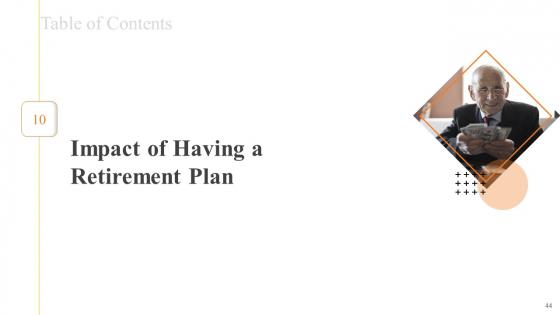 Financial_Plans_For_Retirement_Planning_Ppt_PowerPoint_Presentation_Complete_Deck_With_Slides_Slide_44
