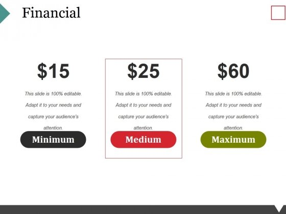 Financial Ppt PowerPoint Presentation Background Image
