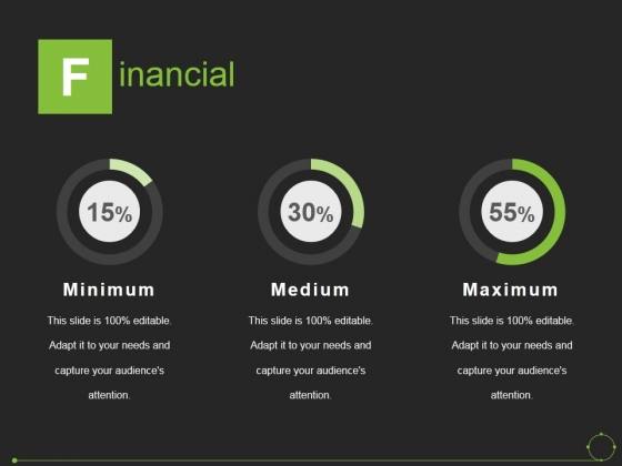 Financial Ppt PowerPoint Presentation File Outline