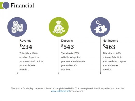 Financial Ppt PowerPoint Presentation Icon Slides