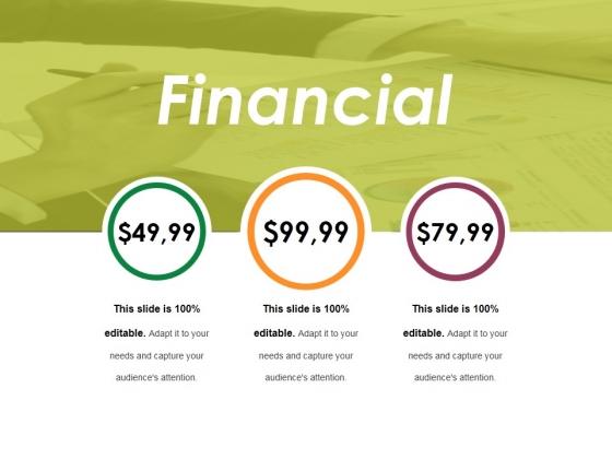 Financial Ppt PowerPoint Presentation Ideas Topics