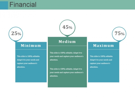 Financial Ppt PowerPoint Presentation Infographic Template Background Images