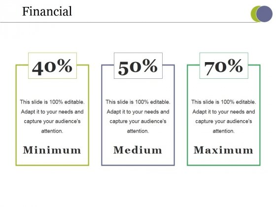 Financial Ppt PowerPoint Presentation Infographic Template Slides