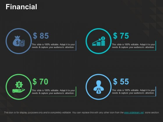 Financial Ppt PowerPoint Presentation Infographic Template Visuals
