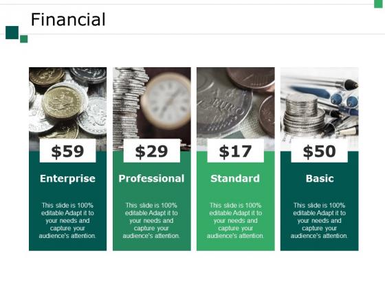 Financial Ppt PowerPoint Presentation Professional Brochure