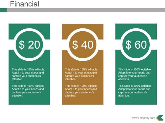 Financial Ppt PowerPoint Presentation Slides Download