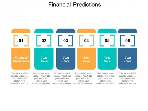 Financial Predictions Ppt PowerPoint Presentation Pictures Graphics