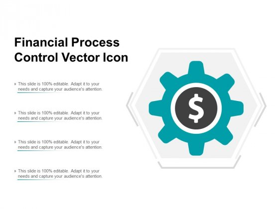 Financial Process Control Vector Icon Ppt PowerPoint Presentation Layouts Show