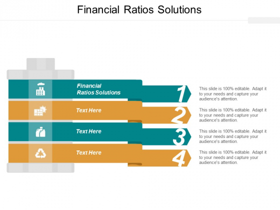 Financial Ratios Solutions Ppt PowerPoint Presentation Infographics Example Introduction Cpb