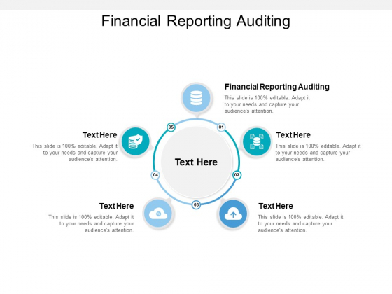 Financial Reporting Auditing Ppt PowerPoint Presentation Show Maker Cpb