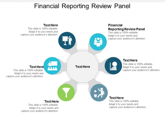 Financial Reporting Review Panel Ppt Powerpoint Presentation Slides Good Cpb