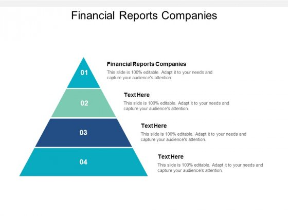 Financial Reports Companies Ppt PowerPoint Presentation Professional Diagrams Cpb