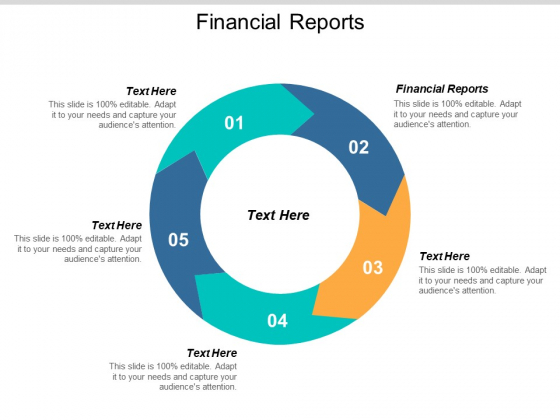 Financial Reports Ppt PowerPoint Presentation Slides Graphics Download Cpb