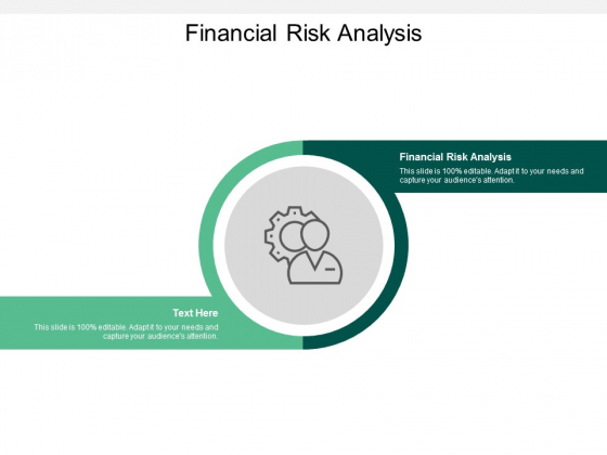 Financial Risk Analysis Ppt PowerPoint Presentation Icon Cpb