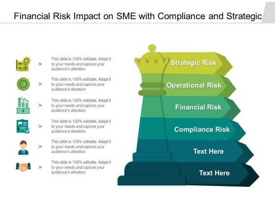 Financial Risk Impact On Sme With Compliance And Strategic Ppt PowerPoint Presentation Infographic Template Inspiration PDF