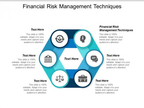 Financial Risk Management Techniques Ppt PowerPoint Presentation Infographic Template Aids Cpb
