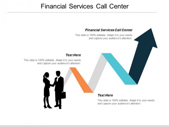Financial Services Call Center Ppt PowerPoint Presentation Portfolio Example File Cpb