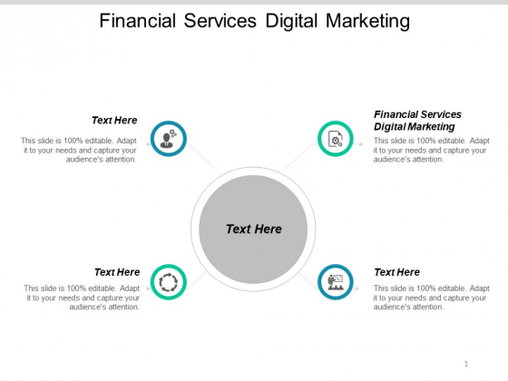 Financial Services Digital Marketing Ppt PowerPoint Presentation Inspiration Guide Cpb