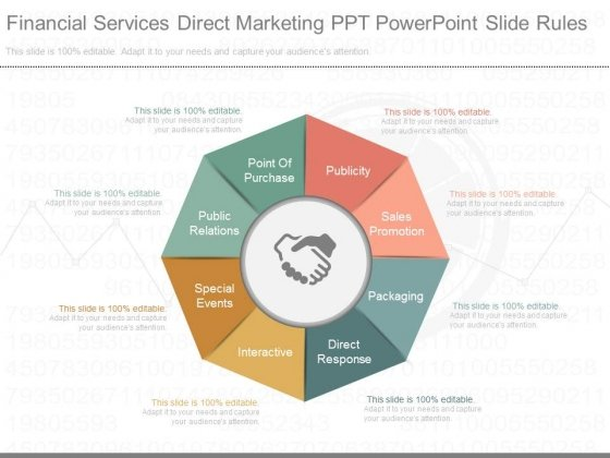 Financial Services Direct Marketing Ppt Powerpoint Slide Rules