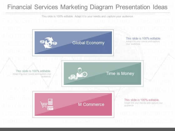 Financial Services Marketing Diagram Presentation Ideas