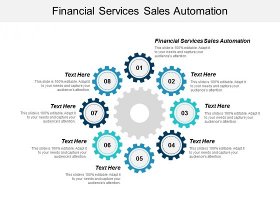 Financial Services Sales Automation Ppt Powerpoint Presentation Graphics Cpb