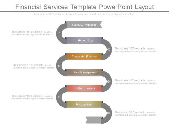Financial Services Template Powerpoint Layout