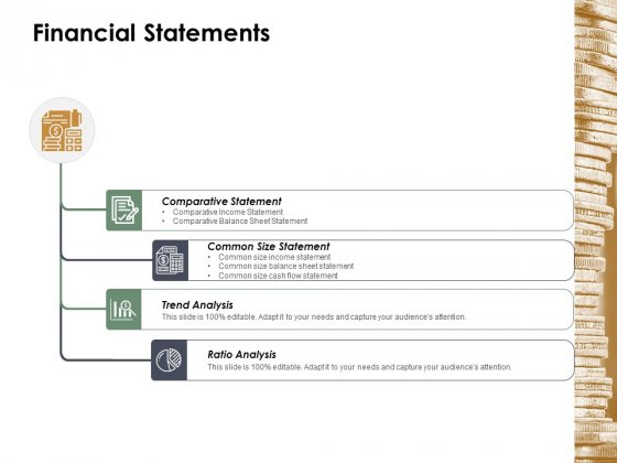 Financial Statements Ppt Powerpoint Presentation Infographic