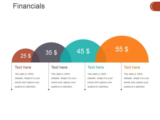 Financials Ppt PowerPoint Presentation Layouts Tips