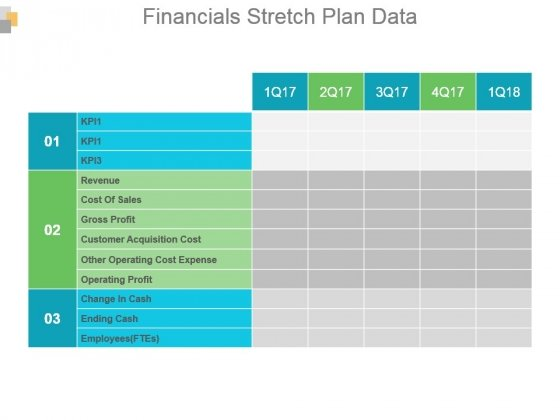 Financials Stretch Plan Data Powerpoint Slide Backgrounds