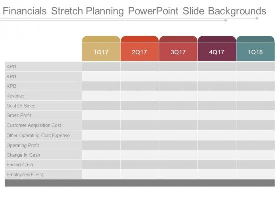 Financials Stretch Planning Powerpoint Slide Backgrounds