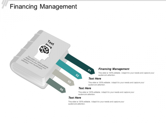 Financing Management Ppt PowerPoint Presentation Professional Visual Aids Cpb