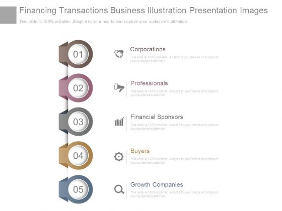 Financing Transactions Business Illustration Presentation Images