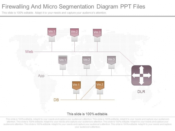 Firewalling And Micro Segmentation Diagram Ppt Files