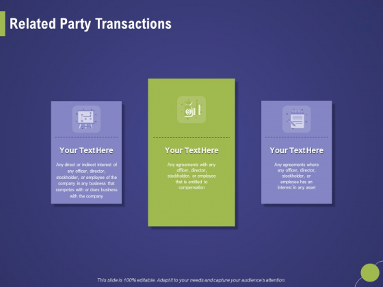 Firm Capability Assessment Related Party Transactions Ppt Infographic Template Show PDF