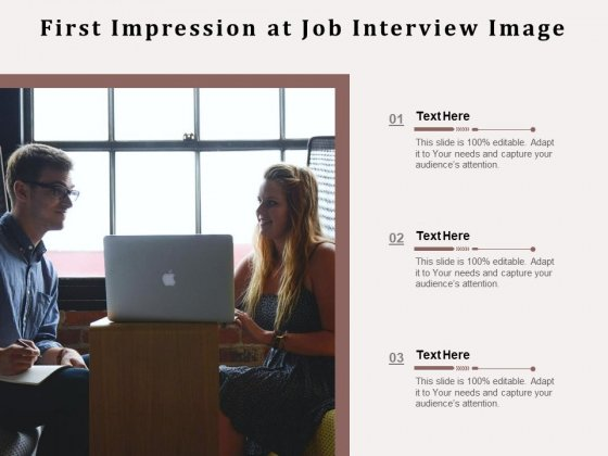 First_Impression_At_Job_Interview_Image_Ppt_PowerPoint_Presentation_Gallery_Visuals_PDF_Slide_1